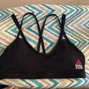 Reebok strappy CrossFit bra